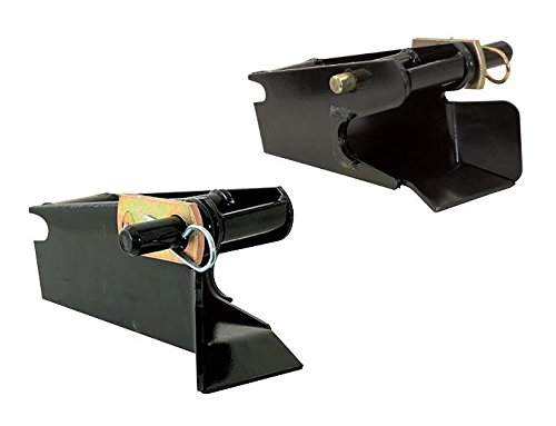 The ROP Shop New Receiver Set for Western UltraMount Snow Plows Blades 67858/67859 DS & PS