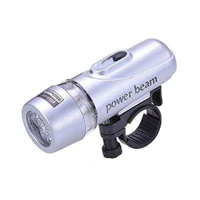Filmer 40.058 Lampe à piles en alu 5 LED Argent