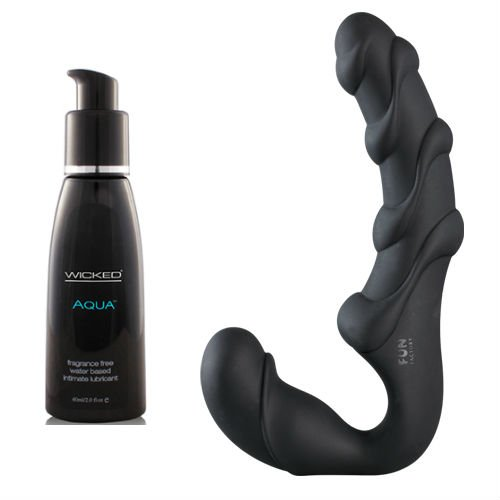 Fun Factory Share XL Black with Wicked Lube by Fun Factory, Wicked