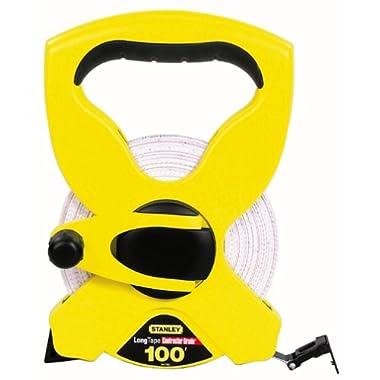 Stanley 34-790 100-Foot Open Reel Fiberglass Long Tape Rule