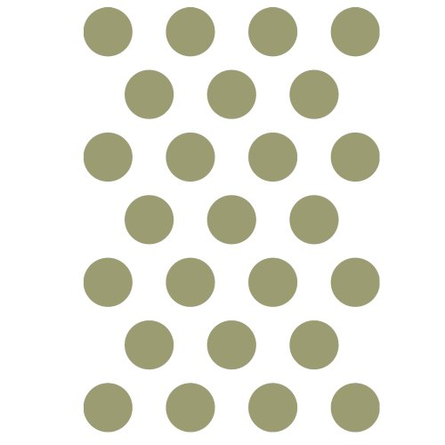 J BOUTIQUE STENCILS Polka Dot Stencils Reusable Template for Crafting Canvas DIY decor Wall art furniture Dot Canvas Rug