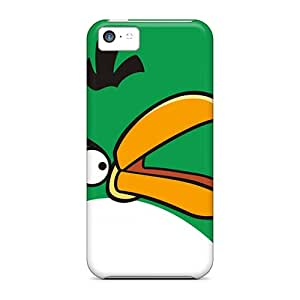 New Design Shatterproof TUh16746cQWo Case For Iphone 5c (green Angrybirds 2 Hd)