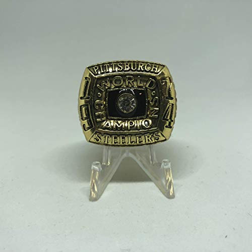 1974 Pittsburgh Steelers High Quality Replica 1974 Super Bowl IX Ring Size 13-Gold US SHIPPING