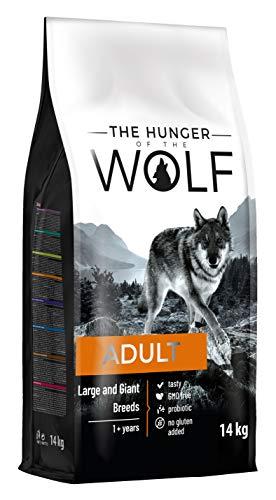 The Hunger of The Wolf Hundetrockenfutter für erwachsene Hunde großer und sehr großer Rassen für eine gute…