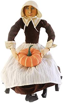 GALLERIE II Prudence Pilgrim Joe Spencer Gathered Traditions Art Doll Brown