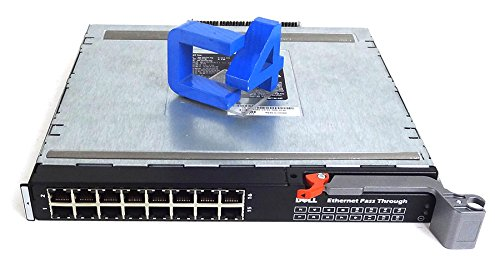 - Dell WW060 10G-PTM 16 Port Ethernet Pass Through Module for M1000e