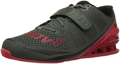 Inov-8 Men's Fastlift 325 Cross-Trainer Shoe, Dark Green/Red, 8 E US