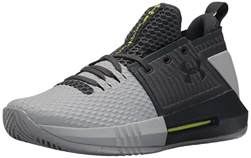 Under Armour Men's Drive 4 Low Basketball Shoe, Gray, 11
