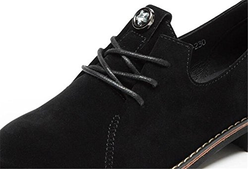 Chaussures Pour Femmes Retro Scrub Lacets Oxfords Talon Bas Taille 35to42