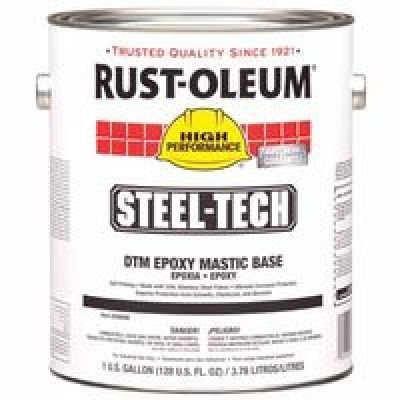 Rust-Oleum 647-266698 Steel-Tech Epoxy Mastic Metallic Gray 1-Gallon