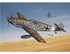 Revell 04572 - Cuchillo cortar Bf 109 E4 / 7 trop, 61 partes