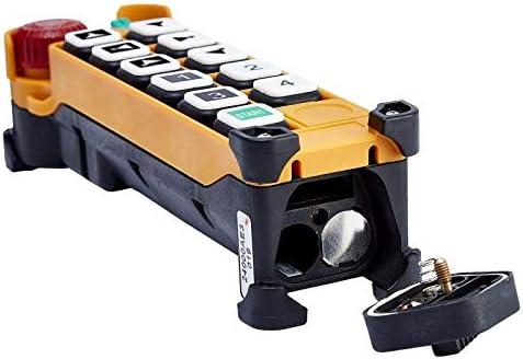 Calvas Telecontrol F24-D3 radio remote control transmitter universal industrial control for craneAC//DC