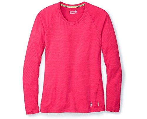 SmartWool Women's Merino 150 Baselayer Pattern Long Sleeve Potion Pink Medium