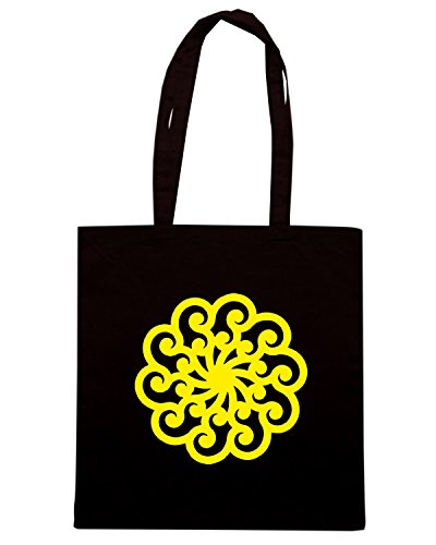 T-Shirtshock - Bolsa para la compra FUN0972 celtic design girl sticker 2 10228 Negro