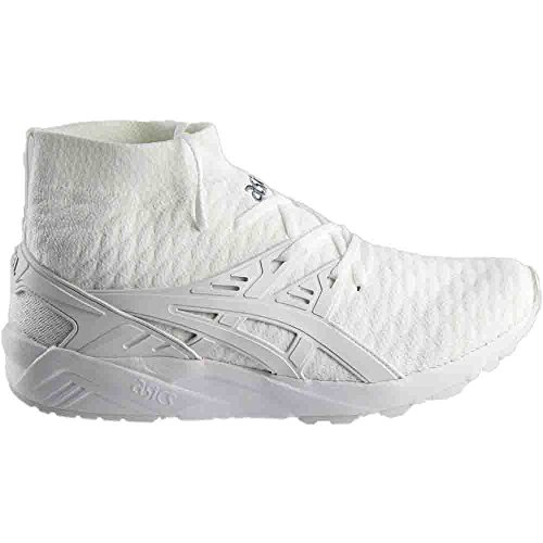 Asic Mens Gel Kayano Tränare Knit (vit) Vit / Vit