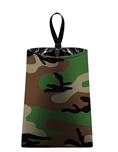 Auto Trash (Camo) by The Mod Mobile - car trash bag litter bag garbage can for your automobile Camouflage