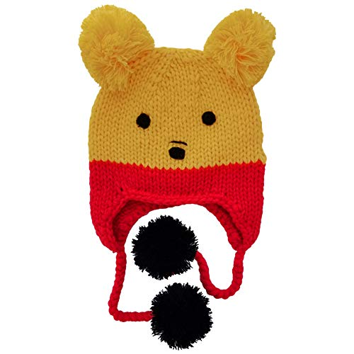 Winnie The Pooh Hat - Huggalugs Baby and Toddler Pooh Bear