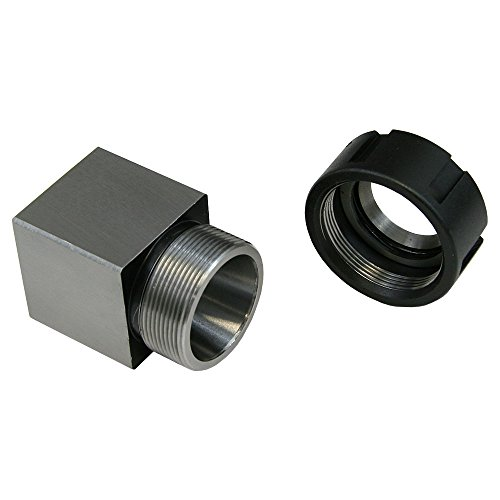 ER-32 Square Collet Block with Nut by LittleMachineShop.com