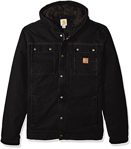 Carhartt Men's Big & Tall Bartlett Jacket, Black, 3X-Large/Tall by Carhartt (Image #1)