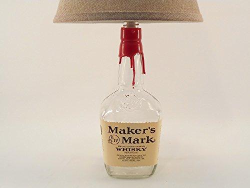 MAKER'S MARK Whisky Bottle Lamp