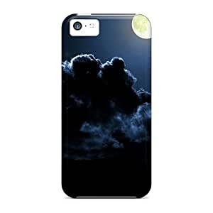 meilz aiaiPremium Durable Moon And Clouds Fashion Iphone 5c Protective Cases Coversmeilz aiai