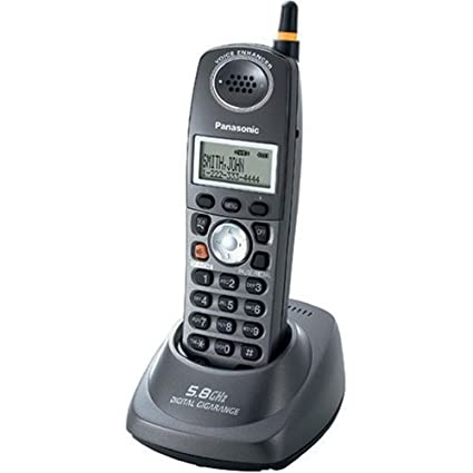 amazon com panasonic kx tga560b 5 8 ghz fhss gigarange expandable rh amazon com Panasonic Kx 500 Bateries Panasonic 6.0 Cordless Phone Manual