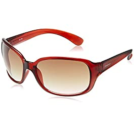 Fastrack Oversized Women's Sunglasses (P101BR2|59|Brown)