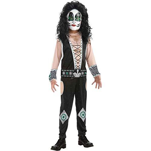 Childs Kiss Catman Peter Criss Rock Star Costume Boys Medium 8-10 for $<!--$11.89-->