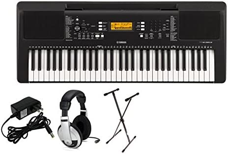 Yamaha PSRE363 Premium Keyboard Package