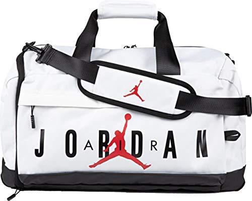 Nike Air Jordan Velocity Duffle Bag (One Size, White)