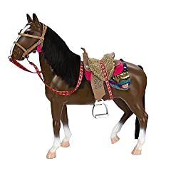 """Our Generation Thoroughbred Horse For 18"""" Dolls"""