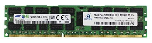 (Adamanta 16GB (1x16GB) Server Memory Upgrade for Dell Poweredge & Precision Servers Samsung Original DDR3 1866Mhz PC3-14900 ECC Registered 2Rx4 CL13 1.5v DRAM RAM)