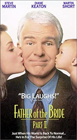 Amazoncom Father Of The Bride 2 Vhs Steve Martin Diane Keaton