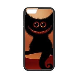 Tt-shop Custom Black Cat Pattern For iPhone6 4.7