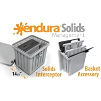 Canplas 3911A-1 Solid Basket Accessory, Removable Dual Screen, Integrated Lifting Handles \