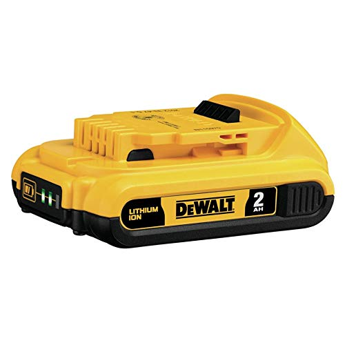 DEWALT 20V MAX Battery, Compact 2.0Ah - Xr Ion Lithium Batteries