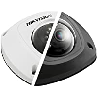 HIKVISION HD Smart 4 Megapixel PoE Mini Dome IP Outdoor Surveillance Camera, 2.8mm Lens, Black (US Version)