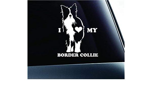 Car Window Sticker Dog Sign Decal Art Gift Idea V01 Border Terrier on Board