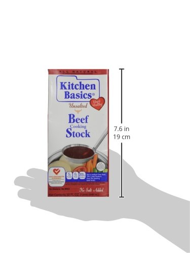 Kitchen Basics All Natural Unsalted Beef Stock, 32 fl oz by Kitchen Basics (Image #12)