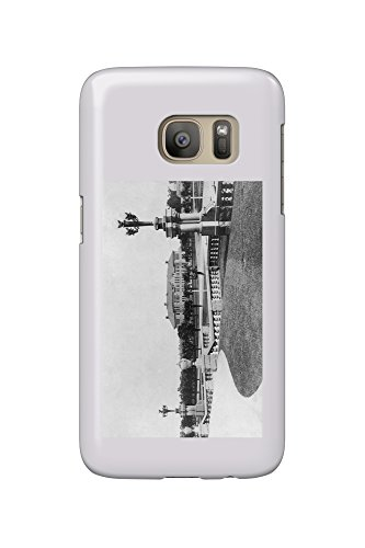 Palo Alto, California - A Scenic View on Stanford University Campus (Galaxy S7 Cell Phone Case, Slim Barely - Stanford Palo Alto