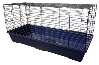 Pequeño Animal Jaulas - Interior conejo jaula 120 x 50 x 60 cm (47 ...