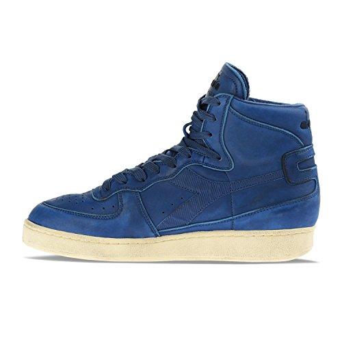 C5786 Occhi Sneakers Donna Per Used Diadora blu Blu Uomo E Occhi Heritage Mi Basket z585nHPq