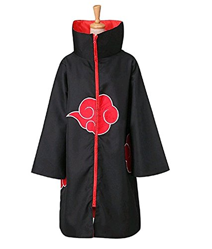 BlueField Cosplay Akatsuki Orochimaru Uchiha Madara Sasuke Itachi Costume Cloak Uniform (XX-Large) -