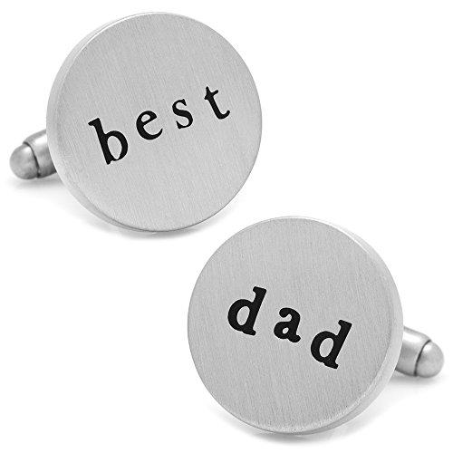 Cufflinks Inc. Best Dad (1 Dad Cufflinks)