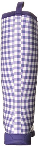 MuckBoots Women's Breezy Tall-W, Purple Gingham, 6 M US by Muck Boot (Image #2)
