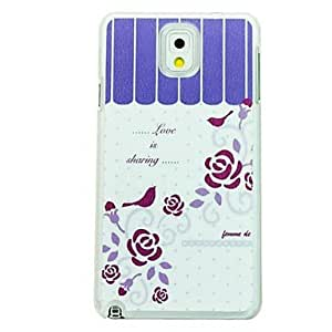 ZXC Samsung Galaxy Note 3 compatible Special Design Plastic Back Cover