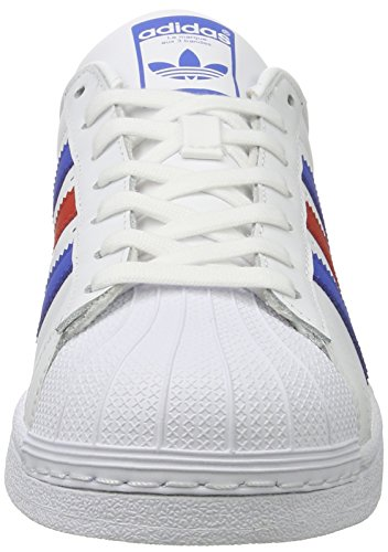 Blue Red Adidas Bb2246 Superstar Deportivas ftwwht Blanco PTwgXpYq