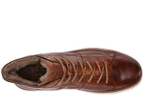 Frye Men's Gates High Cognac Antique Pull Up Sneaker 11 D (Mens Antique Cognac)