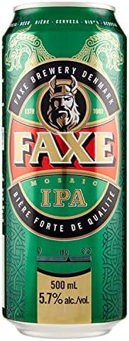 Cerveja Faxe, Ipa, Lata, 500ml 1un