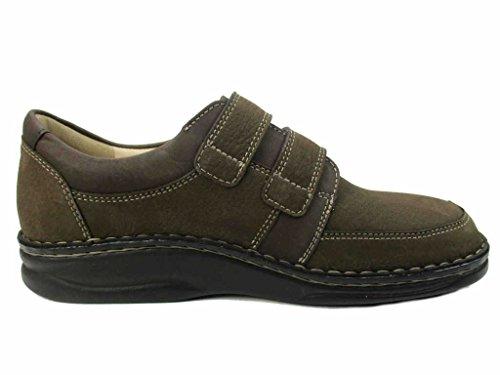 Finn Comfort 01112-901074 - Mocasines para hombre marrón